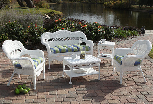 Sahara All-Weather Wicker Patio Set