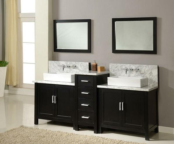 J & J International Double Sink Vanities