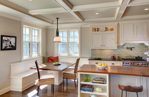 15 stunning kitchen nook designs home design lover - Kitchen nook decorating ideas ...