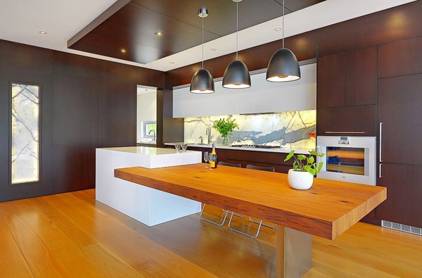 Home Design 15 Beautiful Kitchen Island With Table Attached