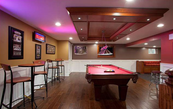 Basement concepts in 15 other home areas list deluxe for Basement concepts