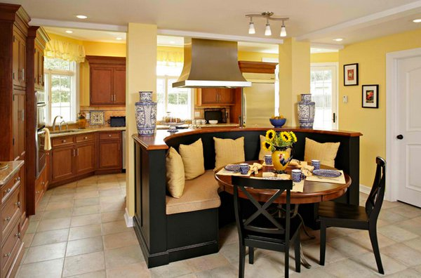 Kitchen Booth Design Ideas ~ Stunning kitchen nook designs home design lover