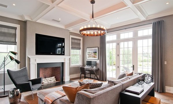 Splendid Modern Family Room Designs Home Design Lover - Modern family room decor