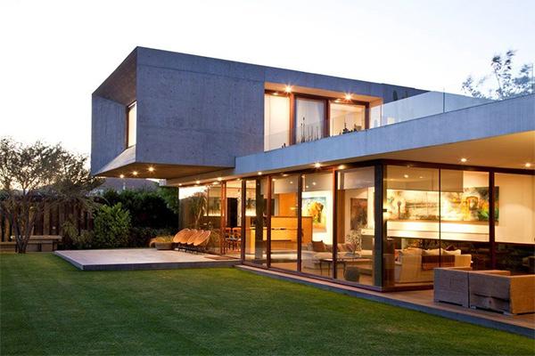 Urzua Cofre House A Modern Box Habitat Home Design Lover