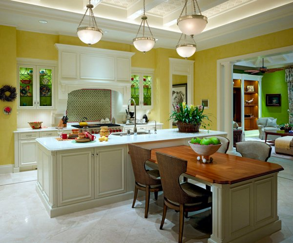 kitchen island table. Interior Design Ideas. Home Design Ideas
