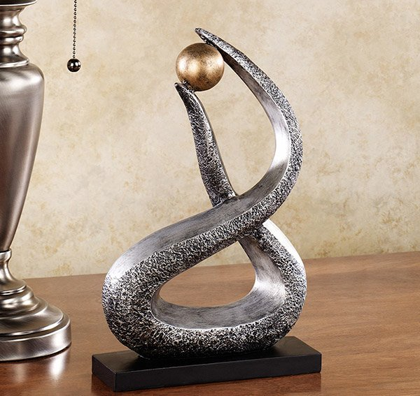 Sanobar Contemporary Abstract Table Sculpture