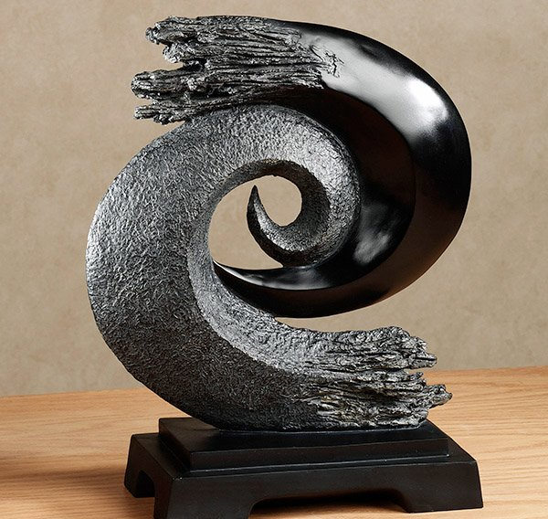 Storm at Sea Table Sculpture