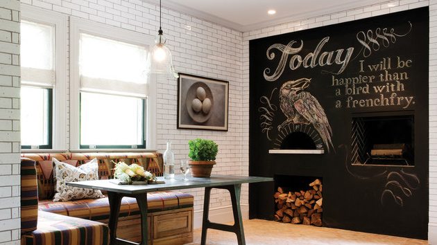 chalkboard accents in 15 dining room spaces | home design lover