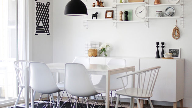 15 Charming Scandinavian Dining Room Design Ideas | Home Design Lover