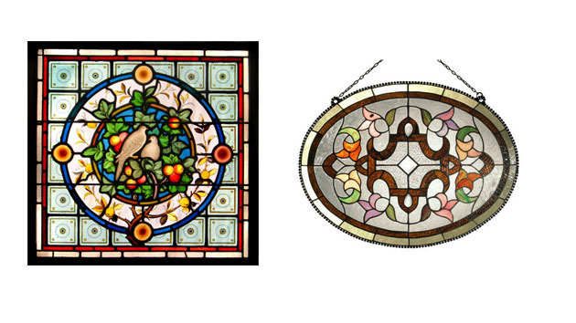 15 well made stained glass window panels home design lover for 15 panel beveled glass door