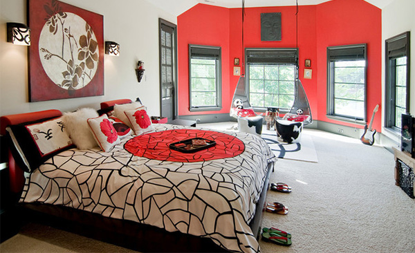 15 asian themed masters bedroom home design lover for Asian themed bedroom