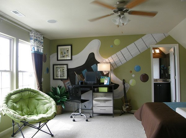 Atlanta Bedroom  10 Interesting Music Themed Bedrooms 1 Atlanta Bedroom