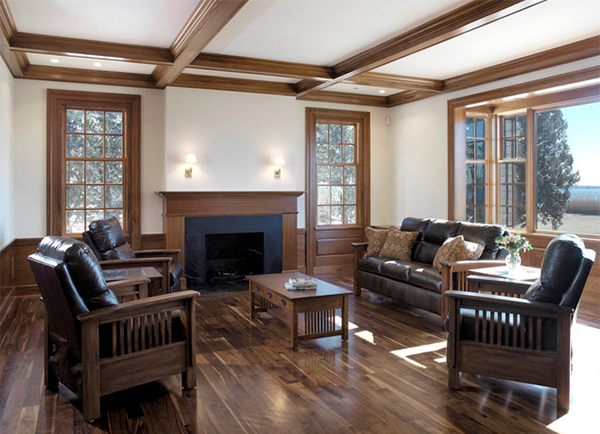 Beautiful Traditional Living Room Designs 15 beautiful traditional coffered ceiling living rooms | home