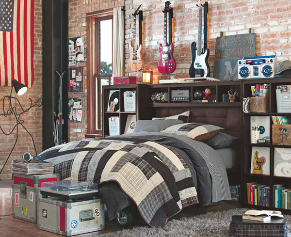 Classic Guy  10 Interesting Music Themed Bedrooms 3 Classic Guy