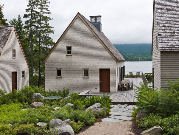 Pond House A Warf Inspired Cottage In Maine Home Design