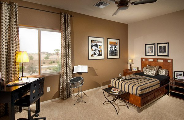 Contemporary Model  10 Interesting Music Themed Bedrooms 4 Contemporary Model