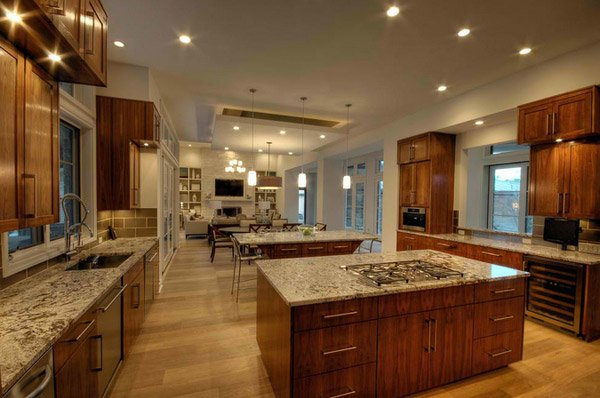 15 big kitchen design ideas home design lover - Home plans with large kitchens ...