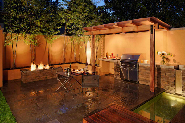 15 awesome contemporary outdoor kitchen designs | home design lover