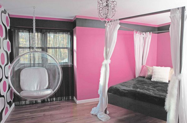 15 stunning bedrooms with swing chairs home design lover