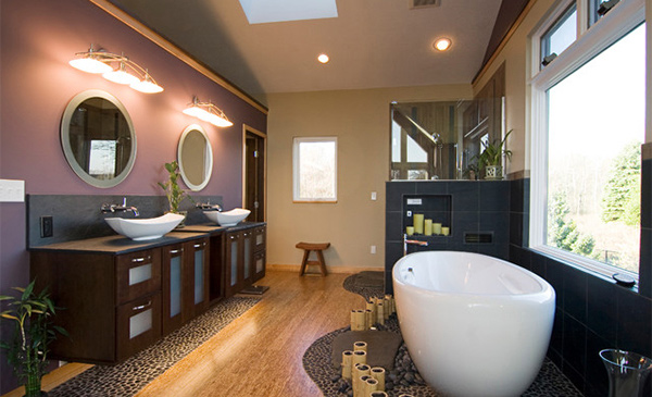 Get Nature S Feel In 15 Asian Themed Bathrooms Home