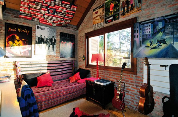 Residential 1  10 Interesting Music Themed Bedrooms 7 Residential 1