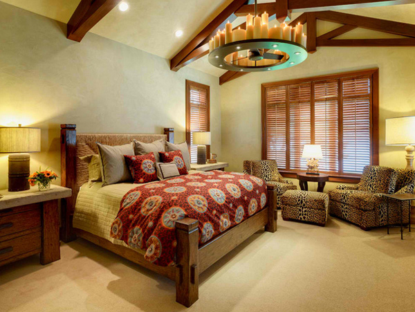 15 Lovely Bedrooms with Leopard Accents - 9 - Pelfind