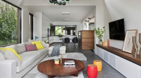 Combining Old and New Elements in the Fitzroy House