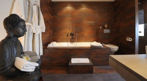 Get Nature's Feel in 15 Asian Themed Bathrooms