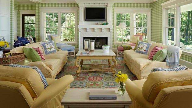 15 homey country cottage decorating ideas for living rooms | home