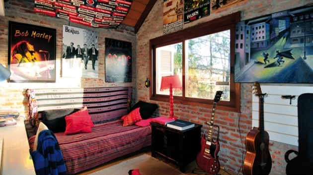 Interesting Music Themed Bedrooms Interior Decorating