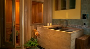 15 Captivating Bathrooms with Wooden Bath Tubs