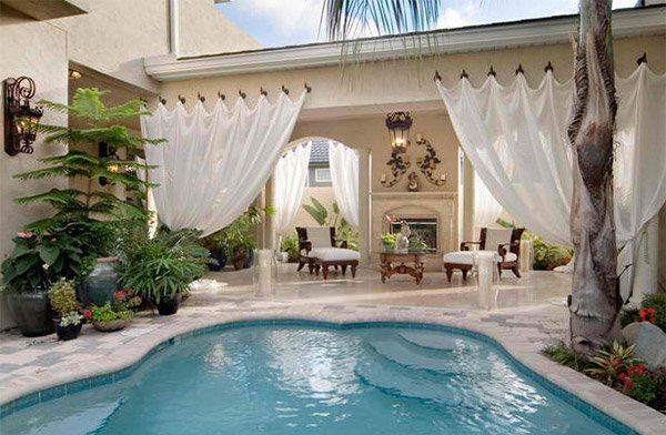 15 Relaxing And Dramatic Tropical Pool Designs Home