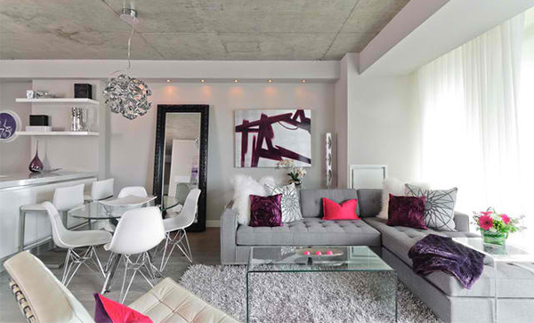 15 Ideas to Decorate a Modern Living Room With Throw Pillows ...