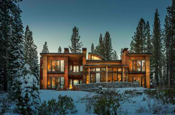Contemporary Martis Camp House in Lake Tahoe, California ...
