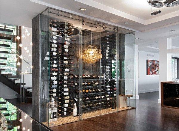 15 Sleek Ideas For Modern Wine Cellars Home Design Lover
