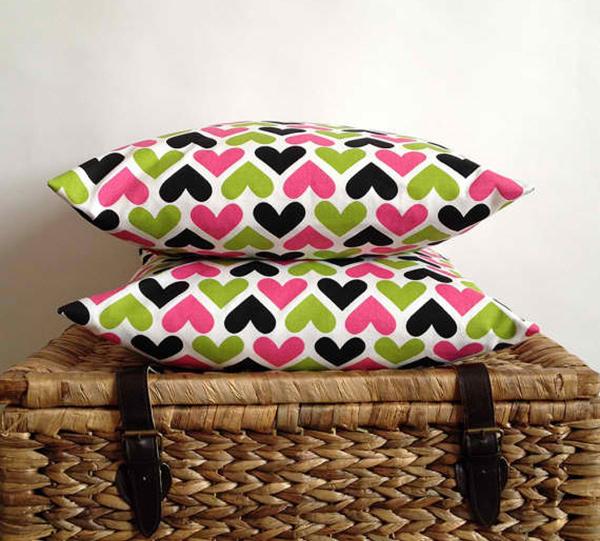 Valentine Pillows.