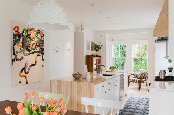 16 ideas to achieve creative kitchen art designs | home design lover