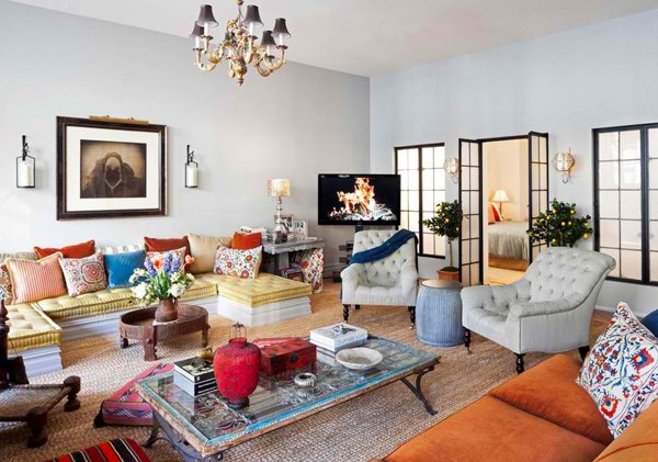 15 outstanding moroccan living room designs | home design lover