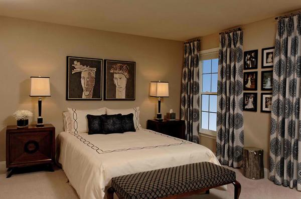 superbly stunning bedroom curtains  home design lover, Bedroom decor