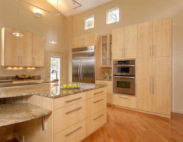 15 Contemporary Wooden Kitchen Cabinets Better Homes Tanzania