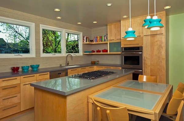 Kitchen Island Stove
