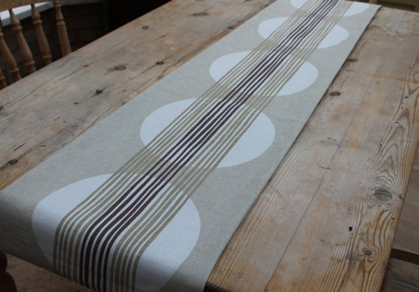 15 Table Runner Designs for Your Dining Table Home  : 5 Rectory Lane from homedesignlover.com size 600 x 449 jpeg 189kB