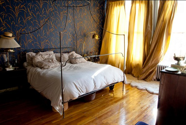 15 gorgeous blue and gold bedroom designs fit for royalty home