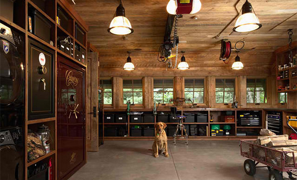 best garage interior design ideas pictures - home design ideas