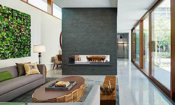 fireplace area design