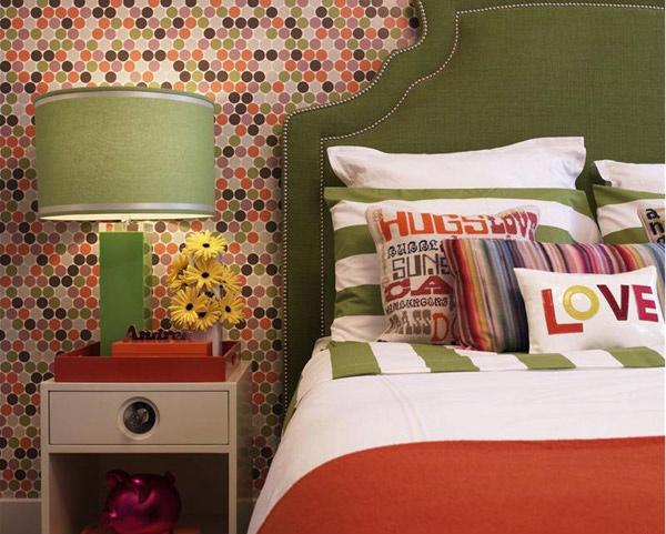 Dramatic Contemporary Bedroom