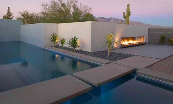 outdoor fireplace ibarra rosano design architects