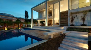 Casa MM: A Modern House with An Inviting Pool in Brazil