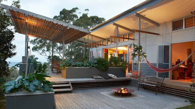 15 Ideas for Gray Wooden Decks | Home Design Lover