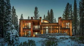 Contemporary Martis Camp House in Lake Tahoe, California